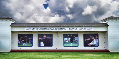 Payne Stewart - 2014 Bob Jones Award Winner Poster by Paulette B Wright
