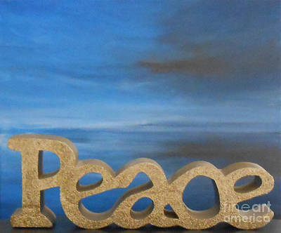 Peace - Jane See Poster by Jane  See