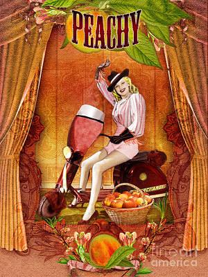 Peachy  Poster by Aimee Stewart