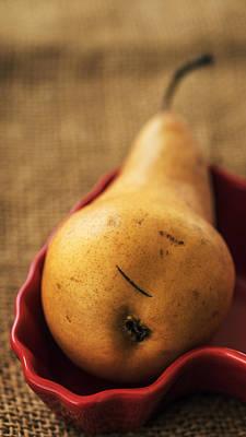 Pear Still Life Poster by Vishwanath Bhat