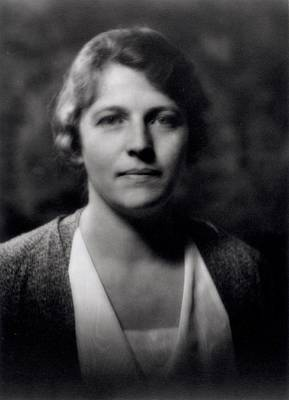 Pearl Buck 1892-1973 Poster by Arnold Genthe