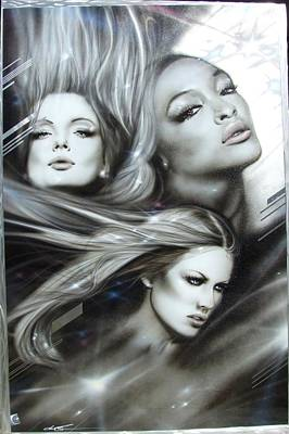 Women - ' Pearl Passions ' Poster by Christian Chapman Art