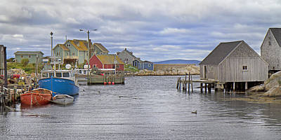 Peggy's Cove 22 Poster by Betsy Knapp