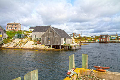 Peggy's Cove 6 Poster by Betsy C Knapp