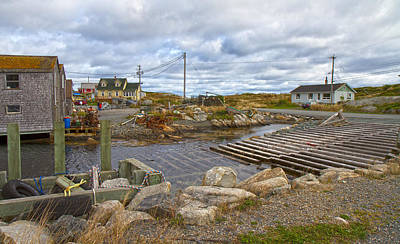 Peggy's Cove 8 Poster by Betsy C Knapp