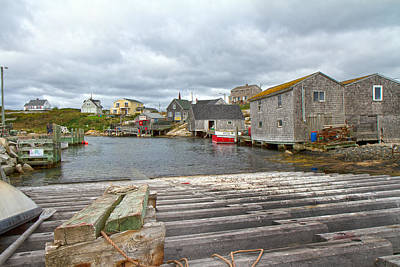 Peggy's Cove 9 Poster by Betsy C Knapp