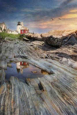Pemaquid Lighthouse Poster by Lori Deiter