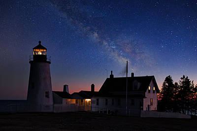 Pemaquid Point Light Poster by Emmanuel Panagiotakis