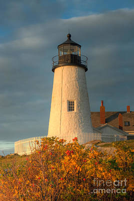 Pemaquid Point Light IIi Poster by Clarence Holmes