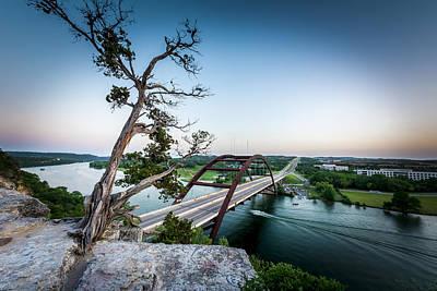 Pennybacker Bridge Austin Poster by David Morefield