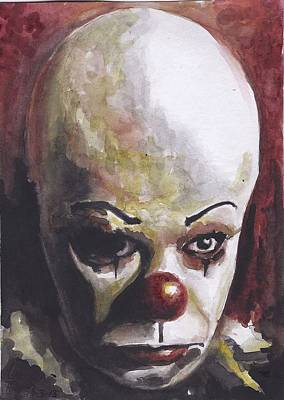 Pennywise Poster by Casey Rhodes