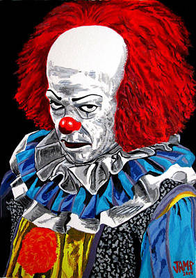 Pennywise Poster by Jose Mendez