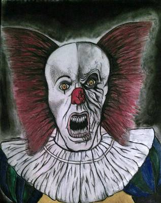 Pennywise The Clown Poster by Cameron Brewer