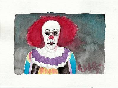 Pennywise Poster by William Ravizza