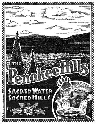 Penokee Hills Poster by William Krupinski