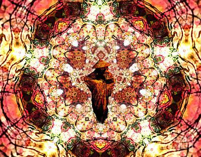 Pentagrammathanatos Severe Beauty Poster by Aeres Vistaas