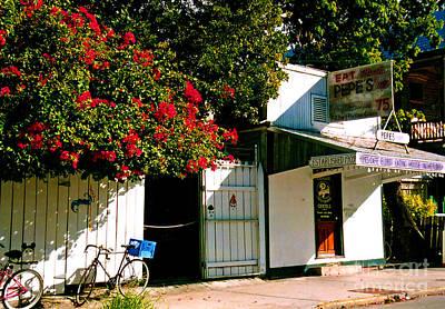 Pepes In Key West Florida Poster by Susanne Van Hulst