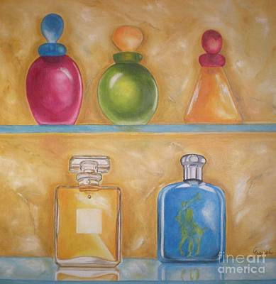 Perfume Poster by Graciela Castro