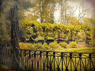 Pergola Garden Poster by Jessica Jenney