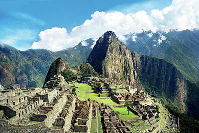 Peru, Machu Picchu, The Lost City Poster by Miva Stock