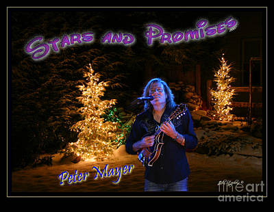 Peter Mayer Stars And Promises Christmas Tour Poster by John Stephens