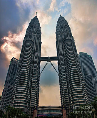 Petronas Twin Towers Poster by Joerg Lingnau