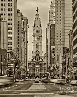 Philadelphia City Hall 2 Poster by Jack Paolini