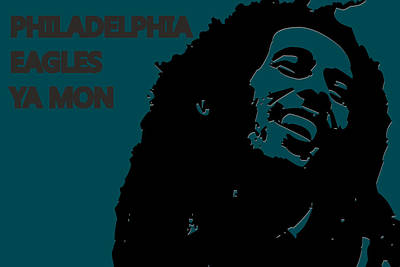 Philadelphia Eagles Ya Mon Poster by Joe Hamilton