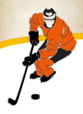 Philadelphia Flyers Rink Poster by Joe Hamilton
