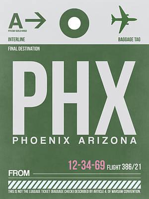 Phoenix Airport Poster 2 Poster by Naxart Studio