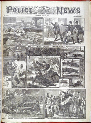 Phoenix Park Murders Poster by British Library