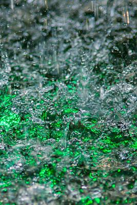 Phone Case - Liquid Flame - Green 2 - Featured 2 Poster by Alexander Senin
