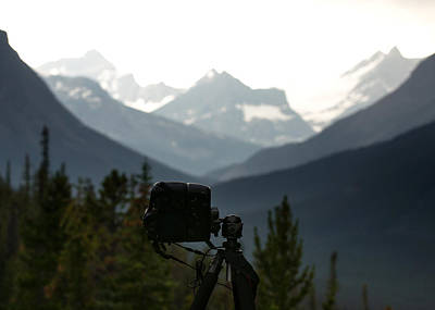 Photographing The Tonquin Valley Poster by Cale Best