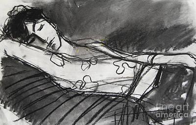 Pia #5 - Figure Series Poster by Mona Edulesco