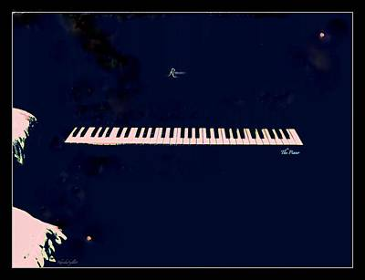 Piano Poster by YoMamaBird Rhonda