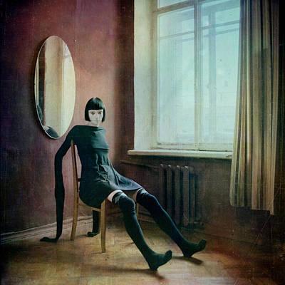 Pierrot Poster by Anka Zhuravleva