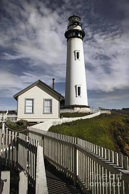 Pigeon Point Lighthouse II Poster by Jennifer Ramirez