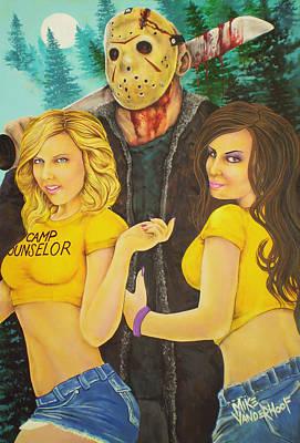 Pimp Jason Poster by Michael Vanderhoof