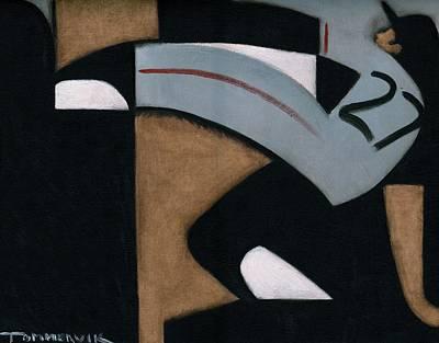 Juan Marichal High Leg Kick  Art Print Poster by Tommervik