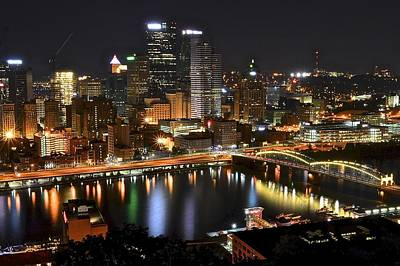 Pittsburgh Pa Poster by Frozen in Time Fine Art Photography