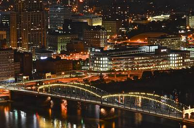 Pittsburgh Up Close Poster by Frozen in Time Fine Art Photography