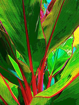 Plant Art-100 Poster by Steve Lipson