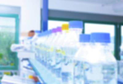 Plastic Bottles In Lab Poster by Wladimir Bulgar