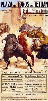 Plaza De Toros De Tetuan Poster by Pg Reproductions
