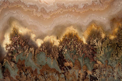 Plume Agate Shape And Form Poster by Leland D Howard