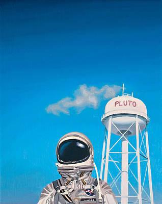 Pluto Poster by Scott Listfield