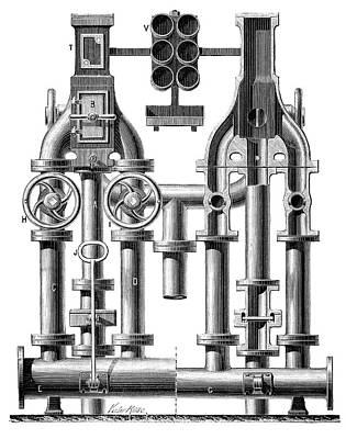 Pneumatic Messaging Poster by Science Photo Library