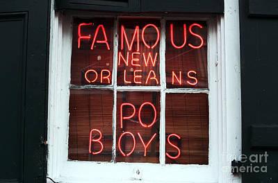 Po Boys Poster by John Rizzuto