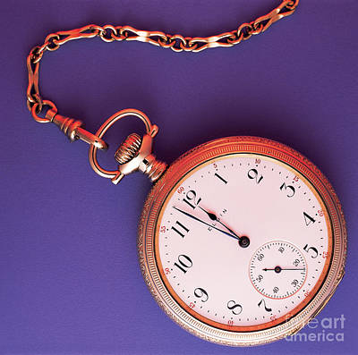 Pocket Watch Poster by Dale Boyer