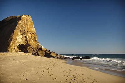 Point Dume At Zuma Beach Poster by Adam Romanowicz